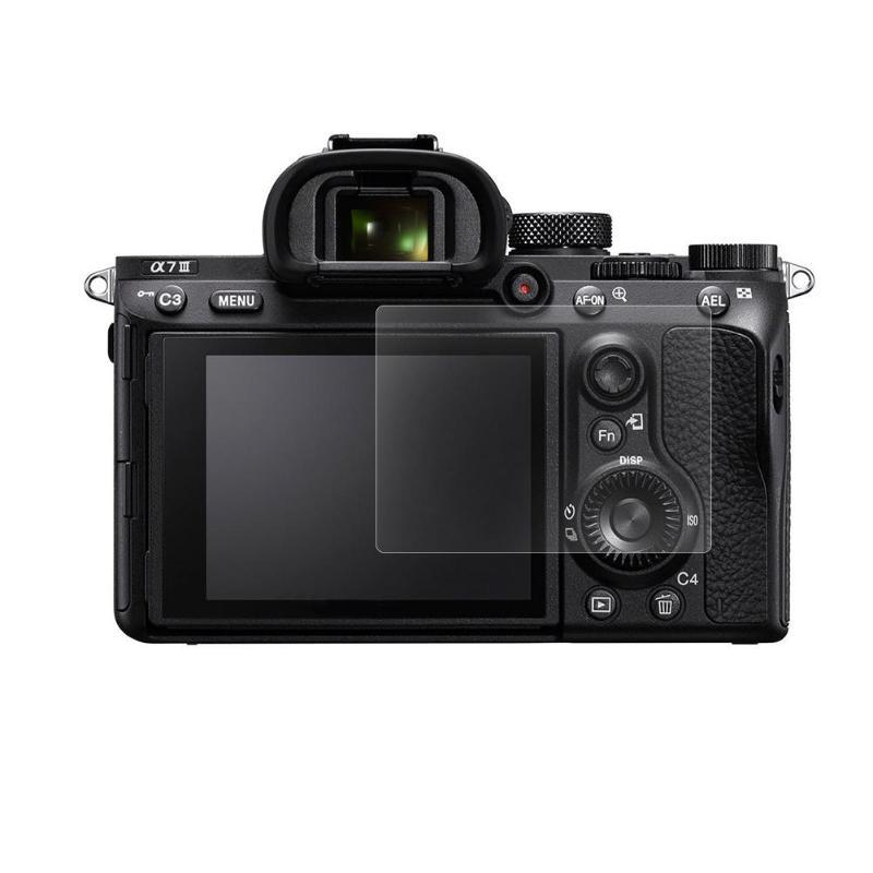 ALLOYSEED cámara Digital LCD Protector de pantalla para Sony A7III templado 9H Protector de vidrio cubierta de película para Sony A7III DSLR Cámara