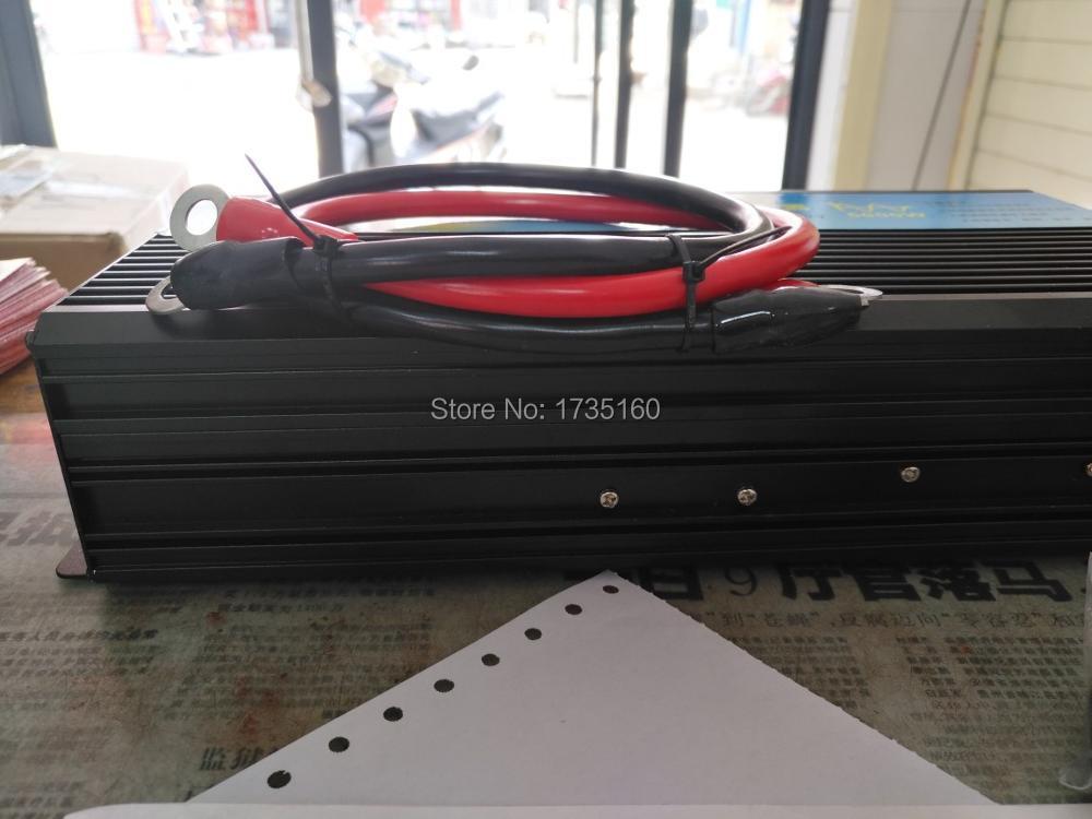 Двойное цифровое табло чистая Синусоидальная волна инвертор 2000 Вт DC 12 В AC 210 в 220 230
