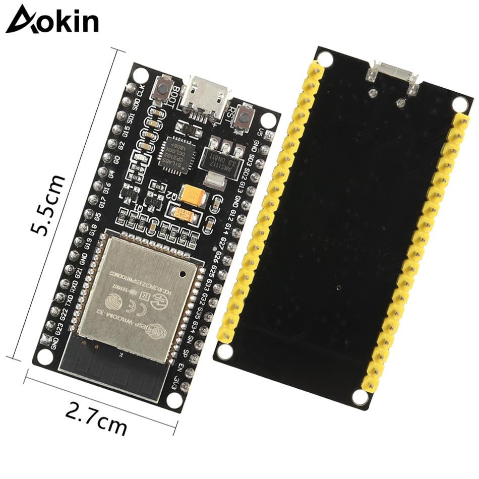 ESP32 ESP-32 Development Board Wireless WiFi Bluetooth Dual Core CP2104 Filters Power Module 2.4GHz RF For Arduino Nodemcu