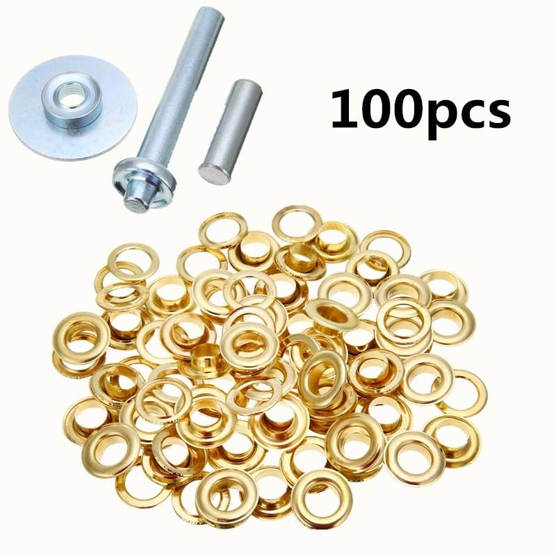 Набор инструментов для парусины и брезента, 100 шт./компл.