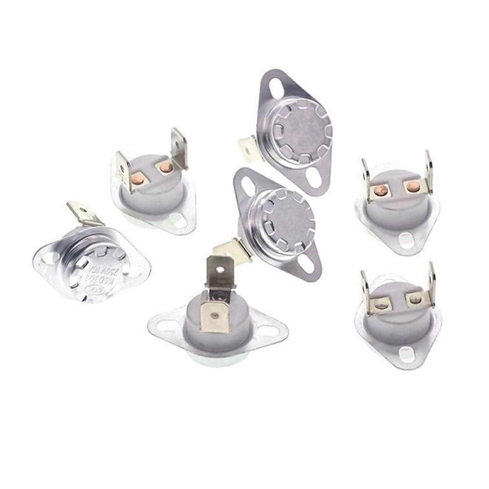 5 uds 16A 250V KSD302 90 ~ 180 grados de temperatura del termostato interruptor de control térmico NO/NC