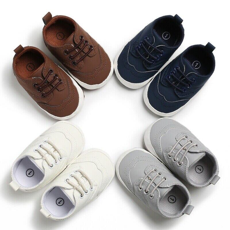 Sapatos de bebê Meninas Recém-nascidas Macios Sólidos Moda Menino Sapatos de Sola Primeiro Walkers 2019 Moda Primavera Prewalker Bebê Recém-nascido Sapatos Ativos