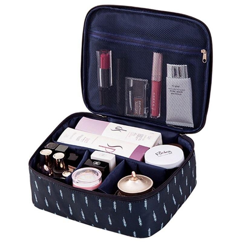 Travel fashion lady cosmetics cosmetic bag beautician storage bags large capacity Women makeup bag