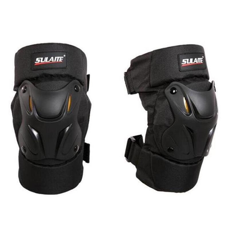 SULAITE Motorcycle Knee Pads Motocross Kneepads Bike Bicycle Pads Racing ATV Knee Pads Protective Guards Armor Gear