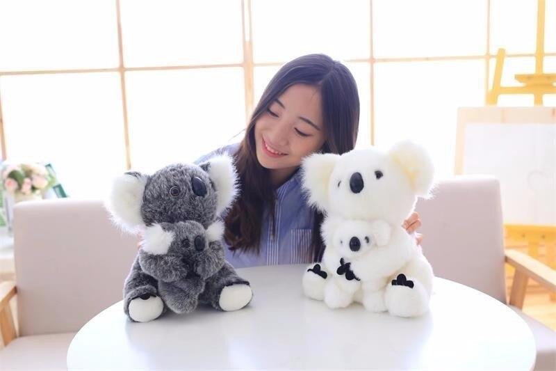 ¡Producto en oferta! muñeco de peluche de Koala pequeño superbonito de 13/17/21/30 cm, juguete de peluche de Koala, muñeco de animal suave para chico, regalo de cumpleaños y Navidad