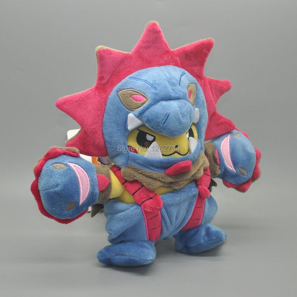 Hydreigon Pikchu 18CM para Anime muñecas de dibujos animados regalos muñeca de felpa figura al por menor