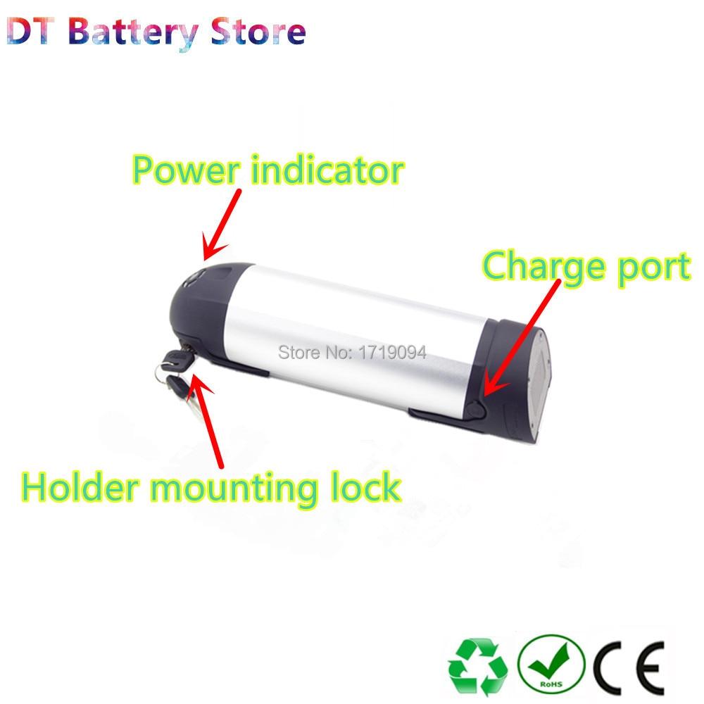 Free shipping 36v 8.8ah lithium ion water bottle Ebike battery pack Sondors bike replace upgrade e-bike battery