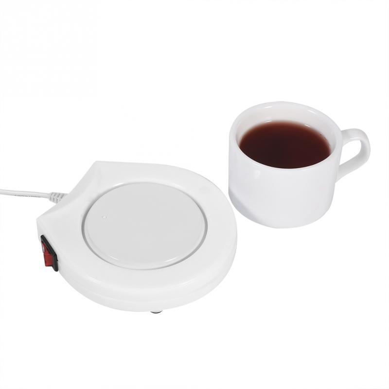 110 В электрическая чашка для напитков подогревающая пластина офиса и дома кружка