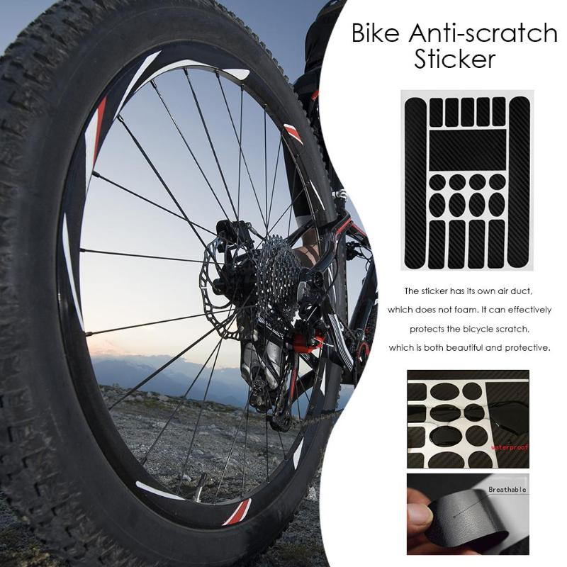 MTB Bike Sticker Anti-scratch Anti-Rub Bicycle Frame Protector Film Sticker  film Bike Sticker Paster Protection cycling paint