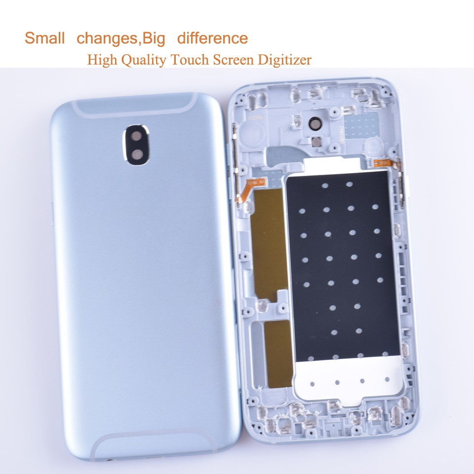 10Pcs/lot For Samsung Galaxy J5 2017 J530 J530F SM-J530F Housing Battery Cover Back Cover Case Rear Door Chassis Shell enlarge