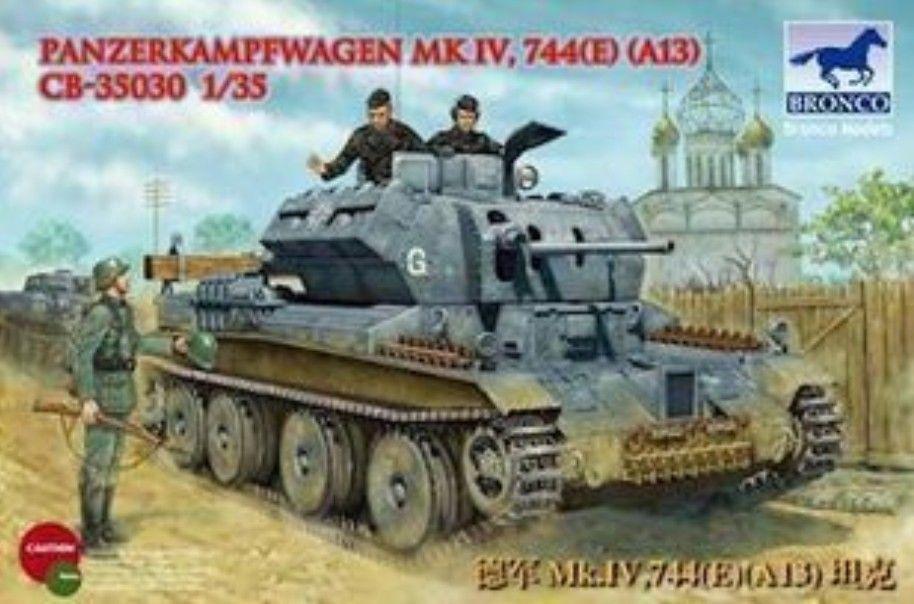 Bronco CB35030 1/35 PanzerKampfwage n Mk. IV 744 (e) (A13)