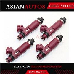 4 PCS Injetores De Combustível Bico 195500-3310 Para Mazda Miata 1999-2000 1.8L-L4 1955003310 BP4W-13-250 FJ584 842-12201 M666 4G1402