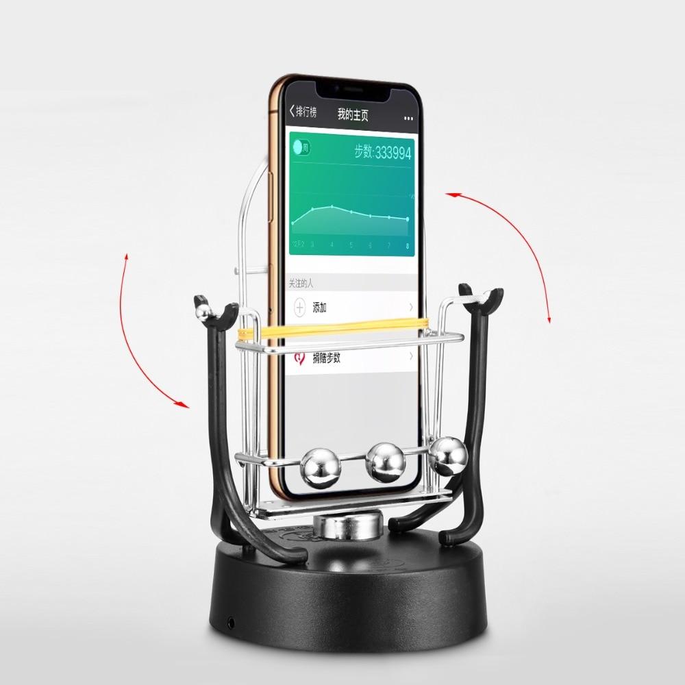 1 PCS Black Phone Swing Automatic Shake Motion Brush Step Running USB & AA Battery Both Power Safety Wiggler Drop Shipping