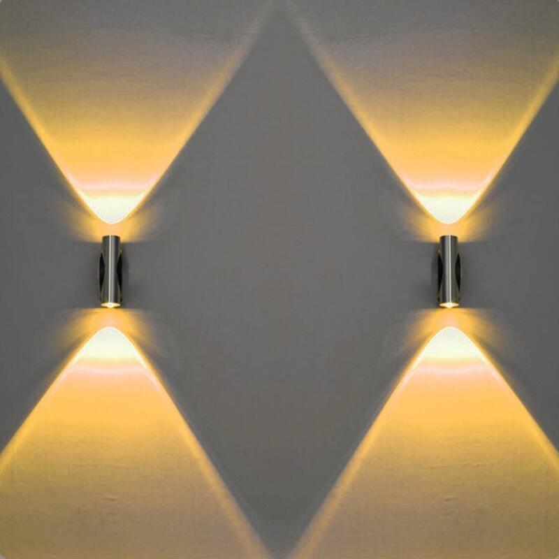 Lámpara de pared LED de 2 W para interiores lámpara de pared...