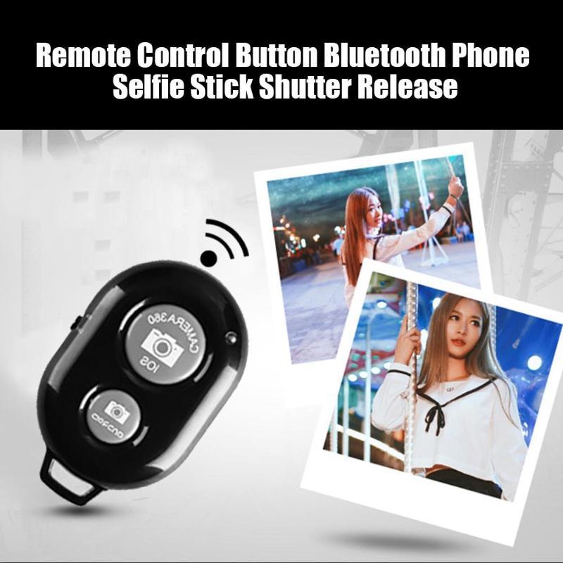 Control remoto inalámbrico Bluetooth obturador para IOS Android palo autofoto teléfono móvil cámara remota