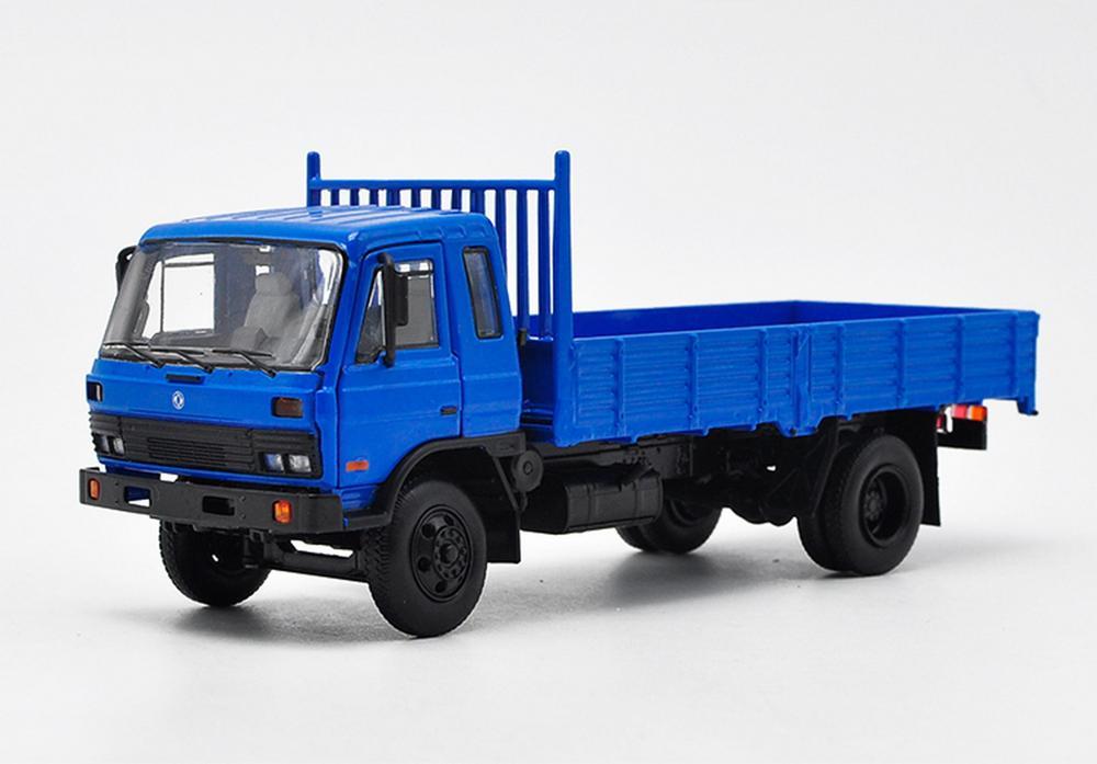 1/43 DFMC China EQ153 DongFeng camión azul fundición modelo colección NIB
