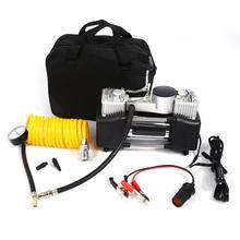 Compresor de aire 150PSI 35L 4WD, Kit de Inflador de neumáticos de coche, bomba de presión de 12V de alta resistencia, Inflador de neumáticos de doble cilindro de pistón doble rápido