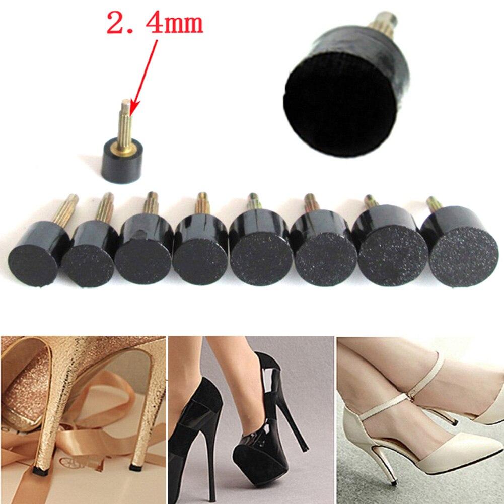 5 Teile/satz Frauen High Heels Reparatur Tipps Pins für Frauen Schuhe Hohe ferse Tipps Wasserhähne Dübel Aufzüge Ersatz Heel Stopfen protector