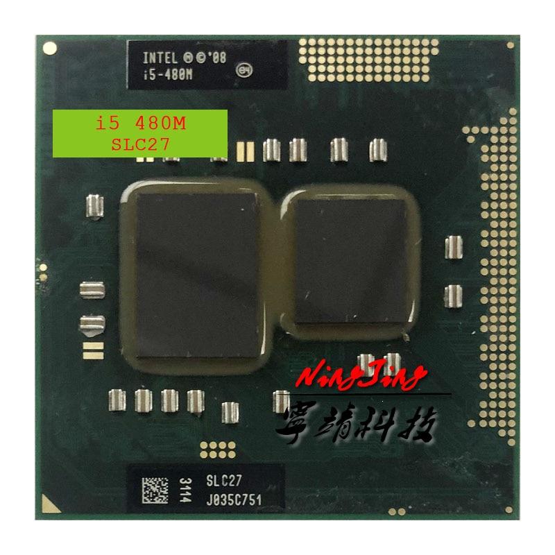 Intel Core i5 i5-480M 480M SLC27 2,6 GHz Dual-Core Quad-Hilo de procesador de CPU 3W 35W hembra G1/rPGA988A