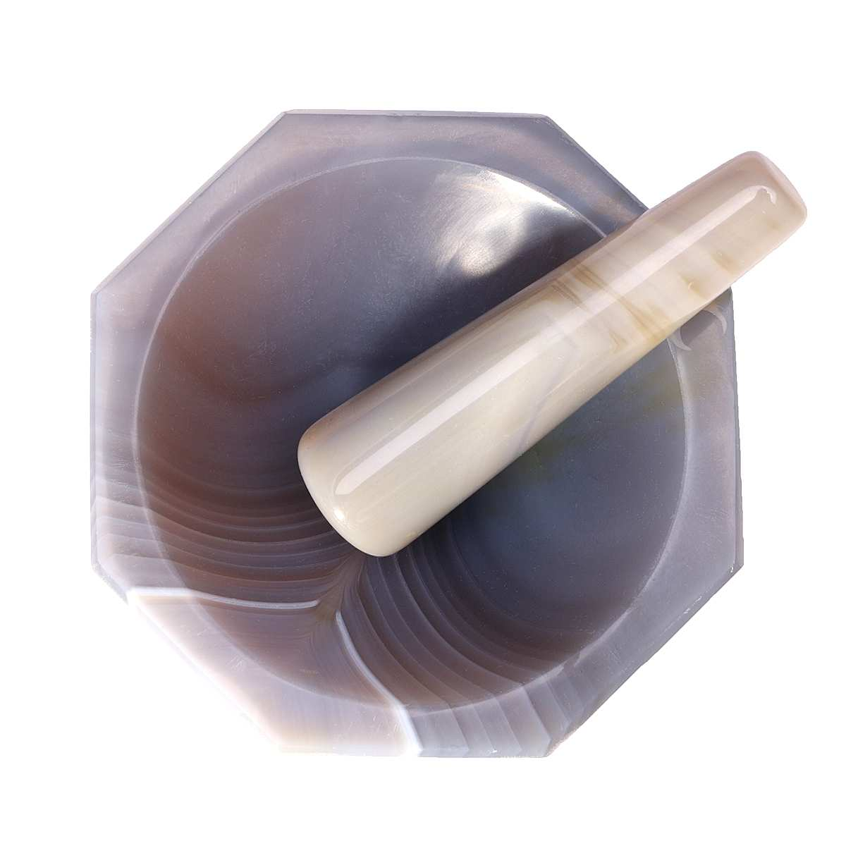Ágata Natural molinos de especias mortero molinillo de mano molinos de condimentos ajo pimienta recipiente de mezclas mortero y mortero herramienta de cocina