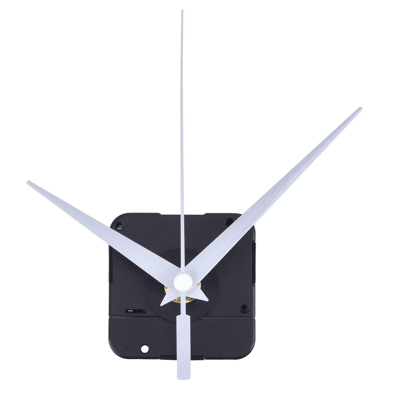 DIY High Torque Clock Mechanism, 3/ 10 Inch Maximum Dial Thickness, 4/ 5 Inch Total Shaft Length (White)