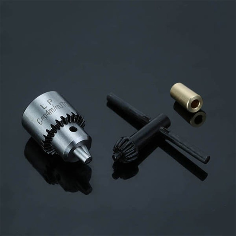 1 juego 0,3-4mm taladro con micromotor mandriles cónicos montado JTO conector del taladro 3,17mm latón Mini Motor eléctrico eje abrazadera herramienta de mano