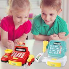 Имитация супермаркета, кассовый аппарат, детские игрушки, новинка 2019