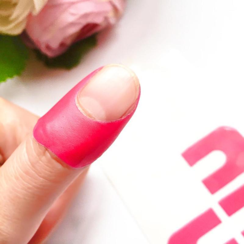 10 Uds U-en forma de uñas pegatinas a prueba de derrames esmalte de uñas Protector para uñas pegatina DIY de salón de uñas, manicura, herramientas