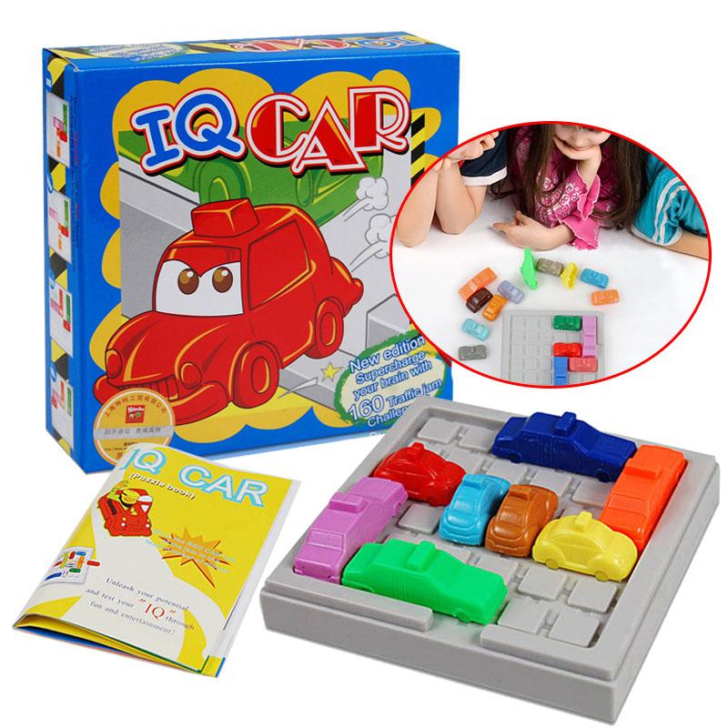 Car Puzzle Toy Creative Intelligence IQ Car Game Rush Hour Logic Game Developmental Game Toys Ignite Mind Logic Game Thinking