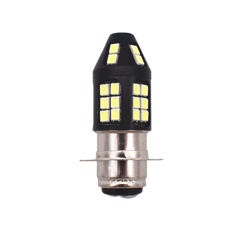 1 пара белый светильник H6M светодиодный головной светильник лампы комплект для Honda Sportrax TRX250EX TRX300EX TRX400EX TRX450R