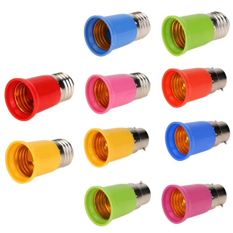 Extensión de cabezal de lámpara de conversión E27 a E27 adaptador para bombilla