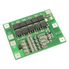 4S 40A 리튬 이온 밸런스 보드 서핑 보호 보드 18650 충전기 PCB BMS 드릴 모터 14.8V 16.8V Diy 전자 모듈 향상