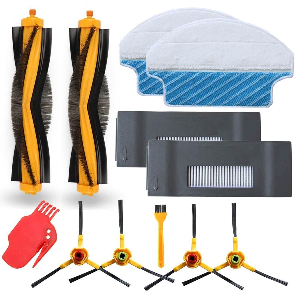 SANQ reemplazo para Ecovacs Deebot M80 M80 Pro Dt85 Dt83 Dm81 Dm85 Robot aspirador Kit de accesorios