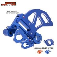 Moto CNC aluminium frein arrière disque moyeu entretoise étrier garde pour Husaberg Husqvarna FC FE FS TC TE 125 150 250 350 450 501