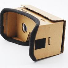 EastVita lunettes de réalité virtuelle pour Google carton 3D lunettes VR films en verre pour iPhone 5 6 7 téléphones intelligents