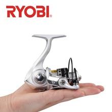 RYOBI 500 800 1000 Vissen Reel Spinning Reel 3 + 1BB overbrengingsverhouding 5.2: 1 max drag 3kg Metal Spool Saltwater Vissen wielen