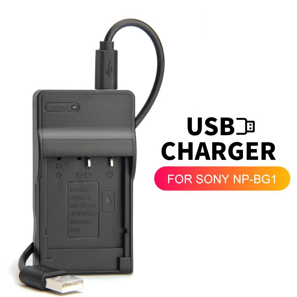 NP-BG1 cargador de batería para Sony DSC-W100 DSC-W110 DSC-W115 DSC-W120 DSC-W125 DSC-W130 DSC-HX30 DSC-N1 DSC-N2 DSC-T100 DSC-T20