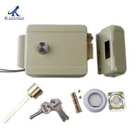 Anti-theft Electric motor lock 12V DC Electric door lock motor drive lock for access control system Electronic iron Door Lock