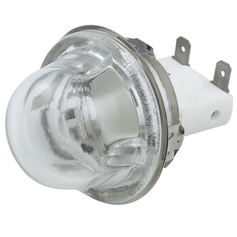 Soporte de lámpara para horno E14, 15W/25W, soporte de lámpara de iluminación, tapa de lámpara para horno, Base de lámpara de alta temperatura, E14 500 grados
