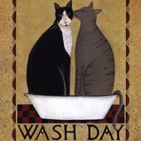 Постер на день стирки Dotty Chase (11x14)|Таблички и знаки| |