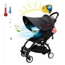 Poussette de bébé universelle   Pare-soleil, pare-soleil, Lycra accessoires de poussette de bébé, cadre de voiture, auvent, couverture de pluie