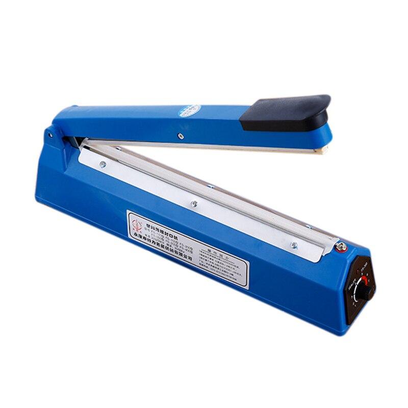 HOT!12 Inch Food Sealer Packaging Machine Sealing Machine Hand Pressure Manual Impulse Heat Sealer Bag Machine Eu Plug