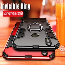 Shockproof Armor Case For Xiaomi Mi 9 SE 8 Lite 9T A2 A3 Play Silicone TPU+PC Cover On Xiomi Redmi N