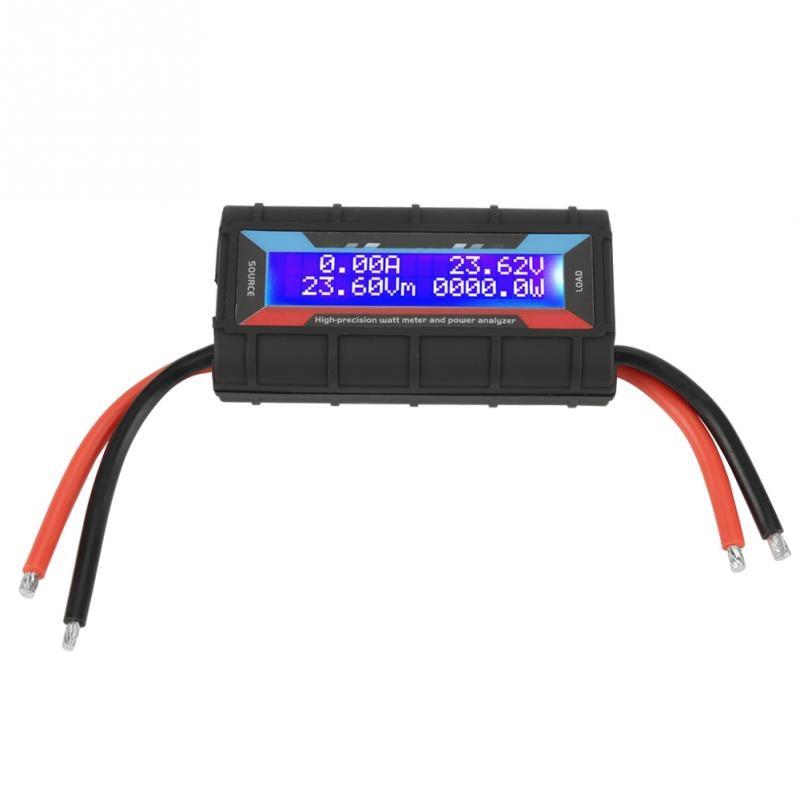 4.8V-60V 130A High Accuracy Watt Meter Power Meter Voltage Amp Meter Power Analyzer  Wholesale