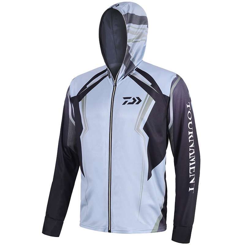 S-5XL Big Size Fishing Shirt Outdoor Sport Anti-mosquito Fishing Clothing Suit Men Spring Fishing Jacket Hoodie Pesca