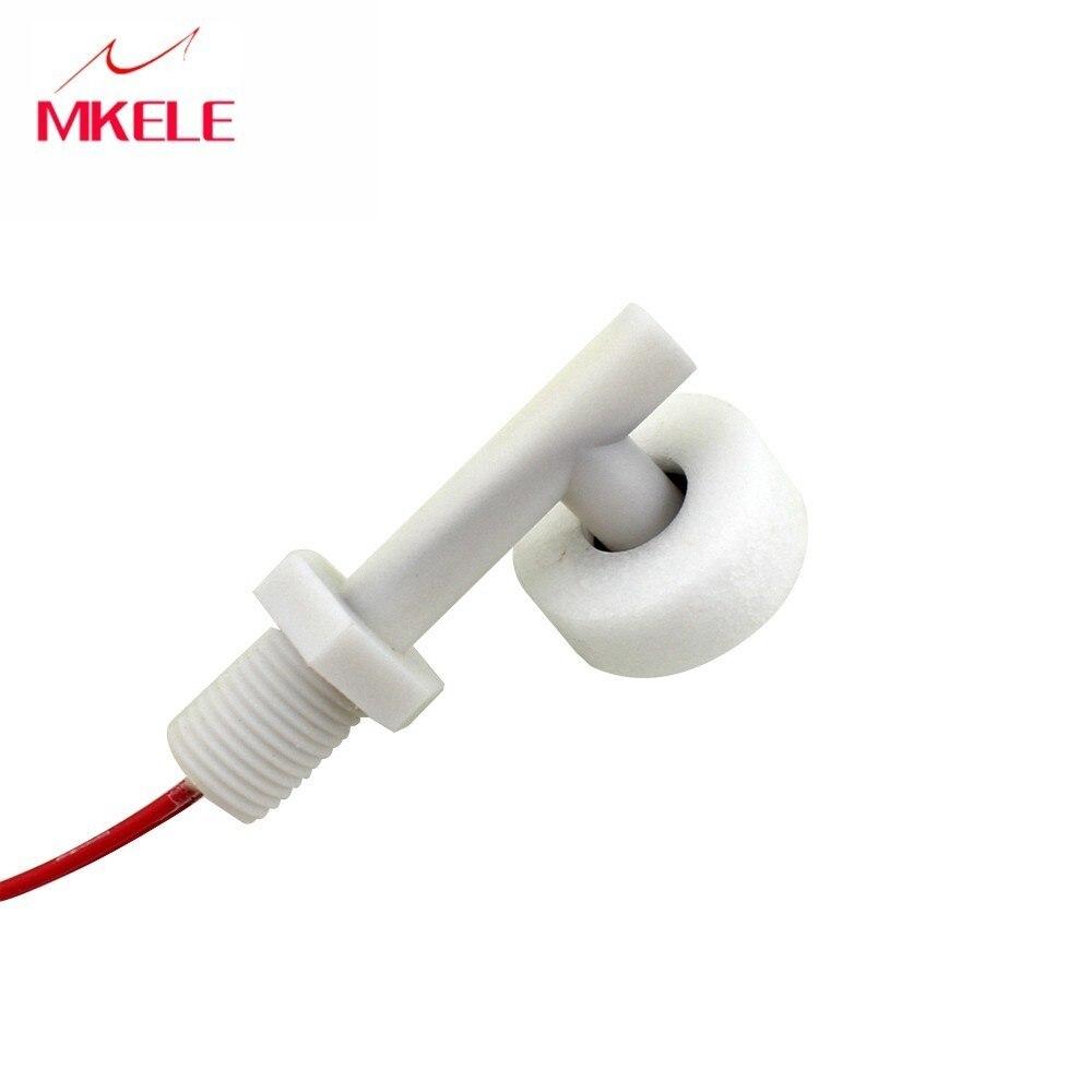 50 w 220 v pequeno interruptor de bóia de plástico, de Nível de Água Controlador/Indutância Sensor MK-PCFS1
