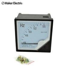 42L6 (HZ 380 V) pointeur outil de Diagnostic testeur cymomètre fréquence Portable compteur Swr mètre hertz 45-55