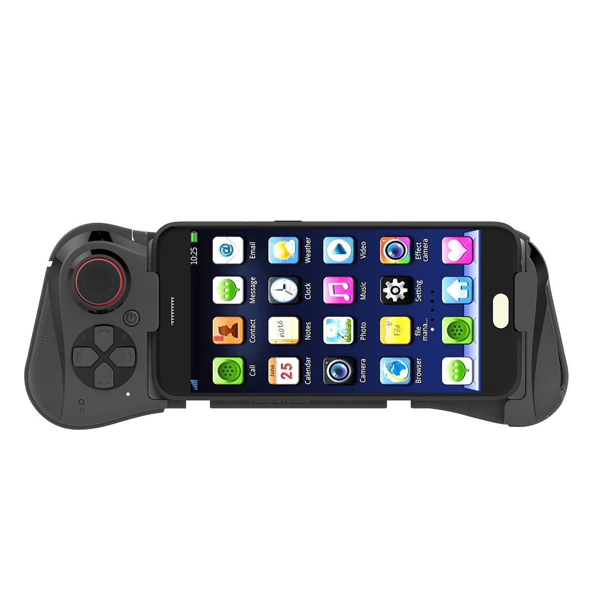 Mocute 058 inalámbrico Bluetooth Gamepad controlador de juegos para Samsung teléfono Android Pubg juego telescópico Joystick