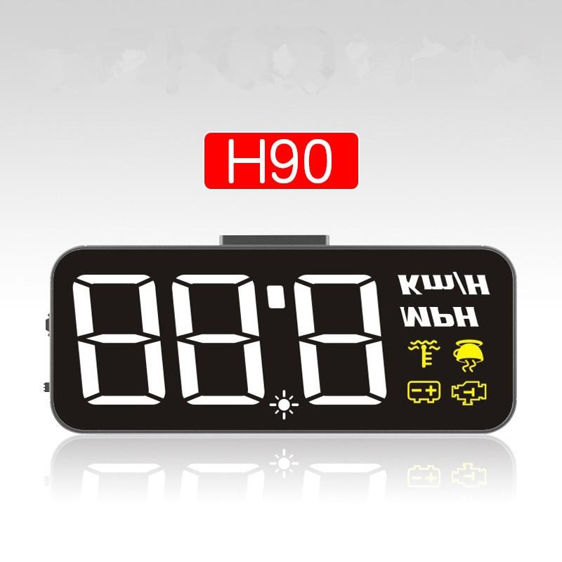 Универсальная автомобильная сигнализация H90, GPS, HUD, 200 км/ч