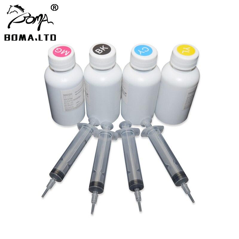مجموعة إعادة تعبئة الحبر بالتسامي GC41 ، 4 ألوان/مجموعة ، للطابعة Ricoh GC41 ، SG3100 ، SG2100 ، SG2010L ، SG3110dnw ، 100 مللي